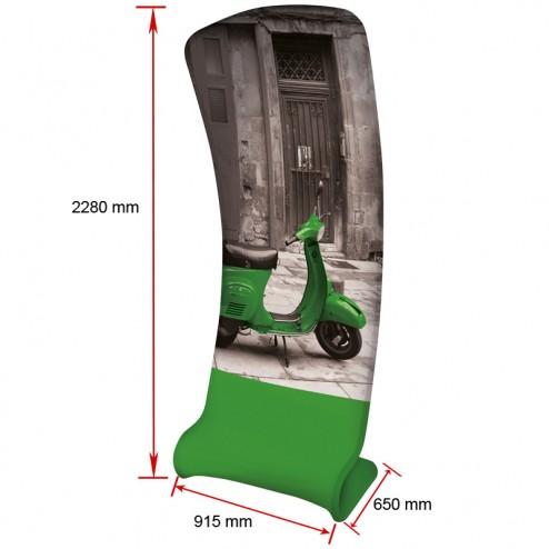 Slant stand dimensions