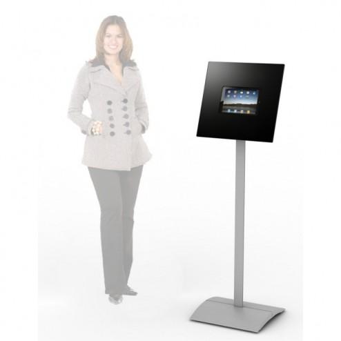 Free Standing iPad Kiosk - black