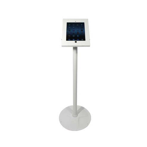 Freestanding iPad Stand - White