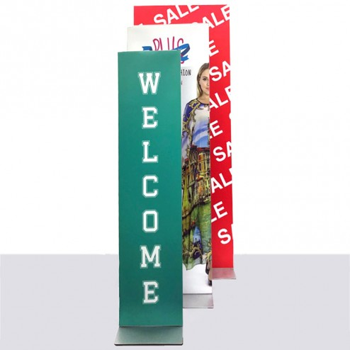 Cost effective retail display in different sizes