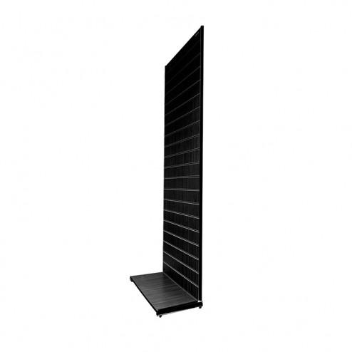 Black Slatwall Display