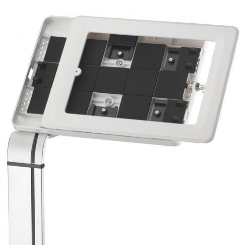 Floor Standing Tablet Display - Landscape