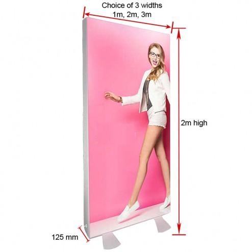 LED Fabric dimensions