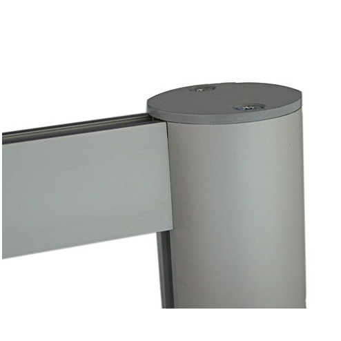 Attractive satin anodised aluminium finish