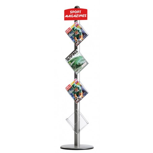 Freestanding Leaflet Dispenser
