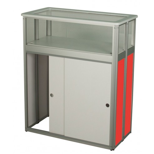 Folding Display Counter with Cabinet