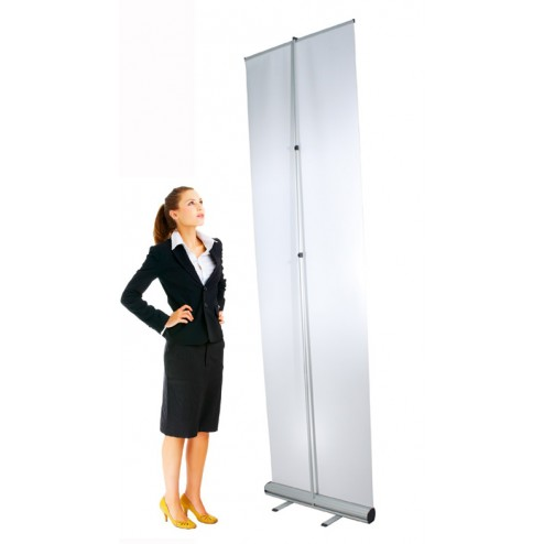 Back view of Super Tall 3000mm (h) Banner Stand