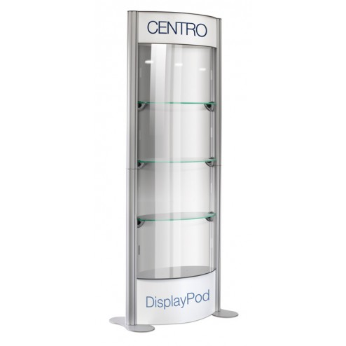 Glass Display Pod Cabinet