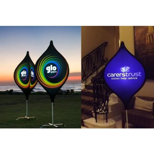 Glo - illuminated lantern
