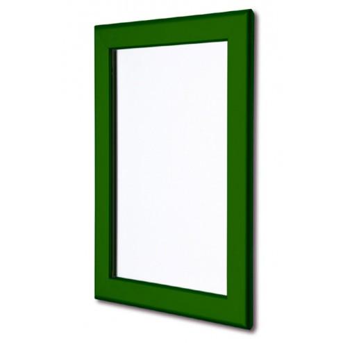 Green poster frame