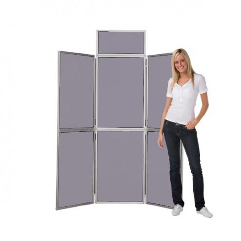 Grey Panel Display