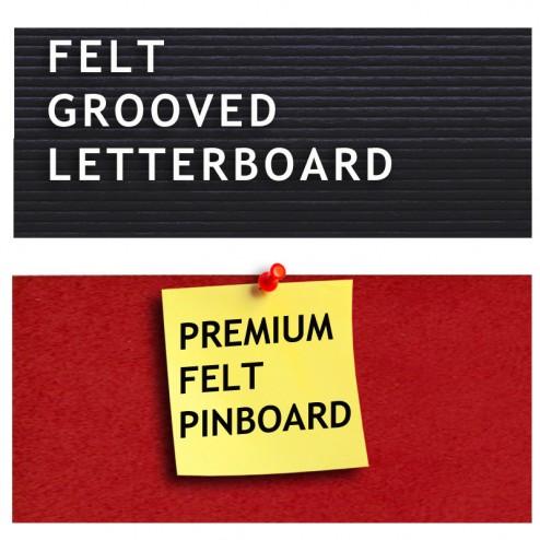 Groove board or premium felt