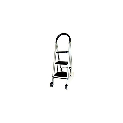 Hand Truck with Built-In Steps