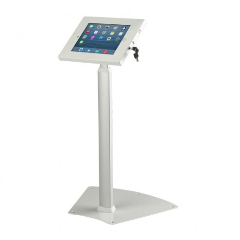 White Height Adjustable Tablet Holder