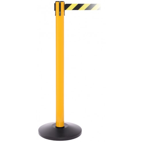High Visibility Safety Retractable Barrier