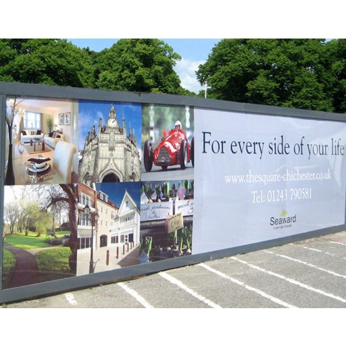 Property Development Site hoarding