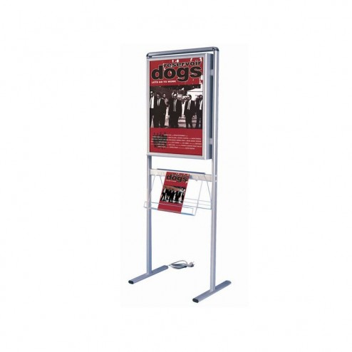 Illuminated Poster Stand - Double Sided