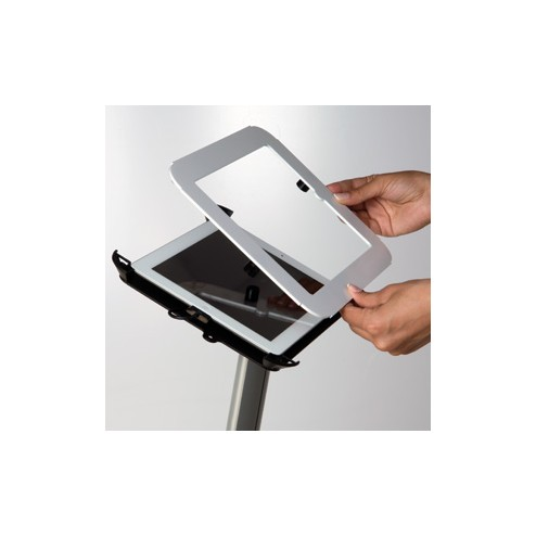 Secure iPad Fascia in Black or White