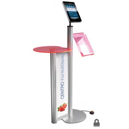 Ipad Display Stand W Brochure Holder Discount Displays