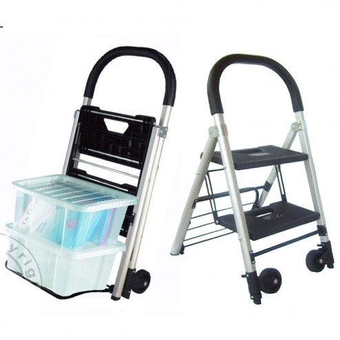 Fee hand trolly and Steps