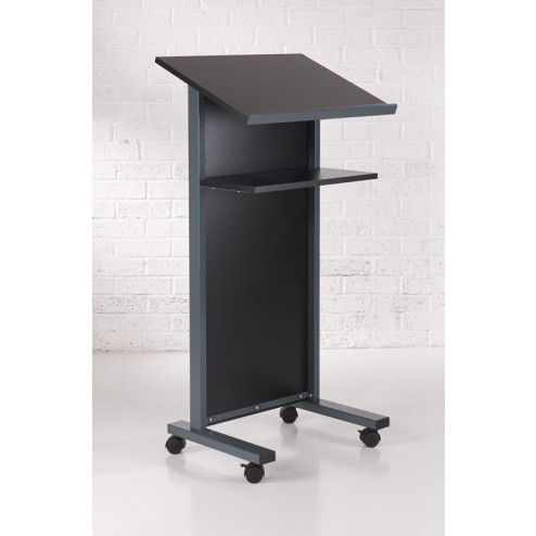Black Lectern For Conferences