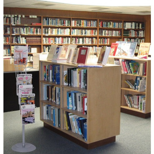 Albi being used in a library