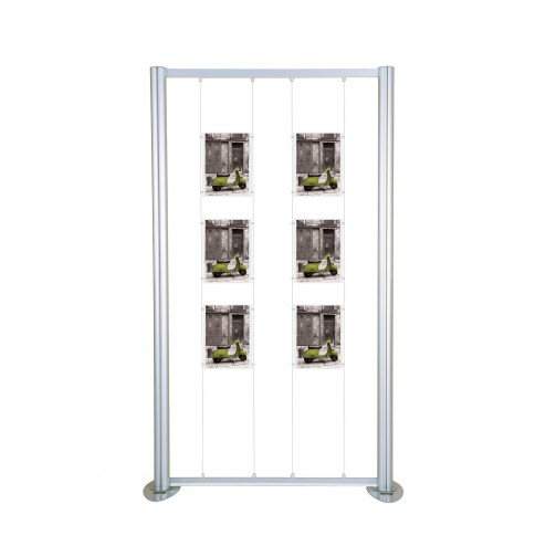 Modular Graphic Display Stand