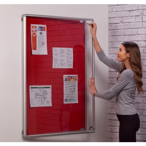 Fireproof & Lockable Noticeboards