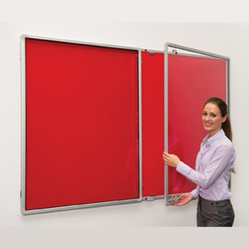 Lockable Wall Mounted Notice Board