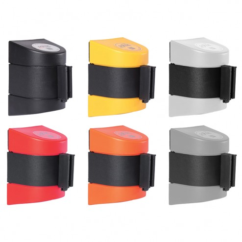 WallPro Wall Mounted Retractable Barrier (Available in 6 Colours)