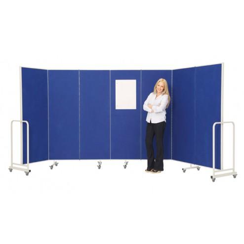 Concertina Office Divider