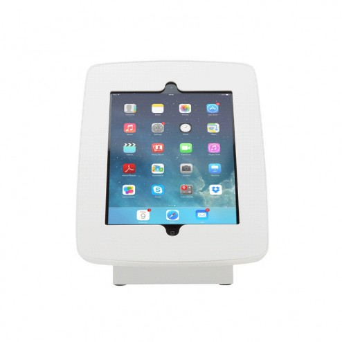 iPad Tablet Holder White - Portrait