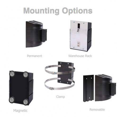 5 Mounting options for wallpro