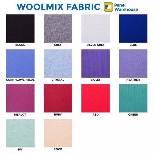 Woolmix colour options