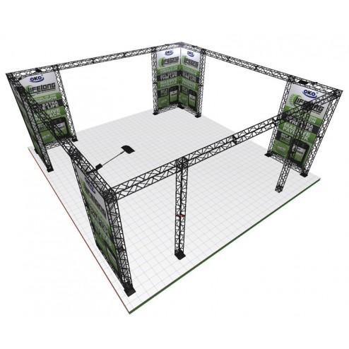 Truss Exhibition Gantry Frame | 7x7m