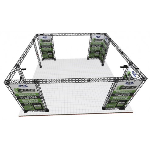 7x7m Exhibition stand system