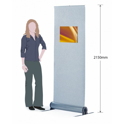 Velcro Friendly Banner Stand Height