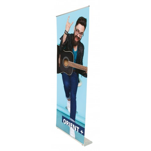 Orient pull up banner stand