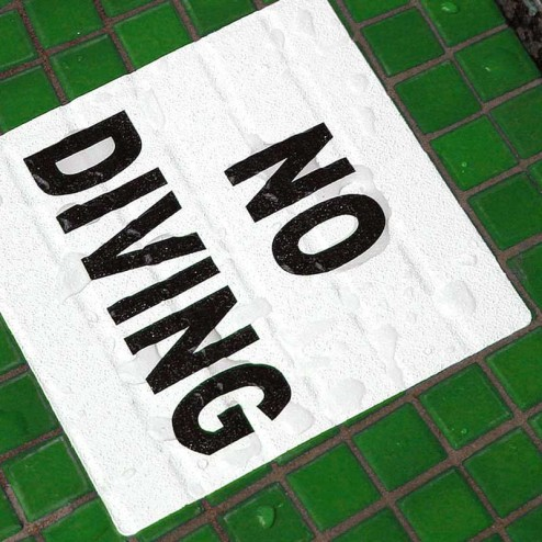 Waterproof floor stickers