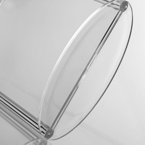 Acrylic tabletop menu stand