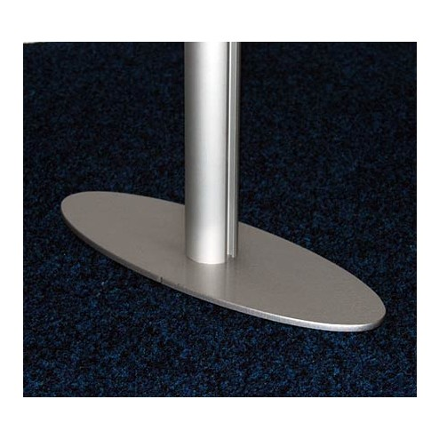 Sturdy 50mm dia uprights with stable feet