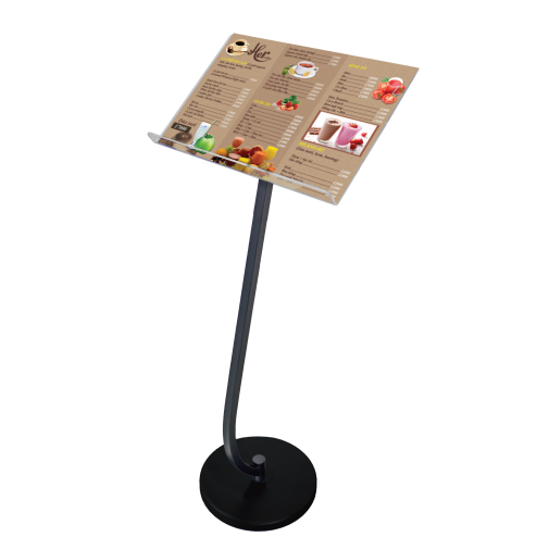 Restaurant Floor Standing Menu Holder