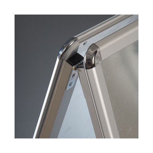 Anodised Aluminium frame with rounded corners