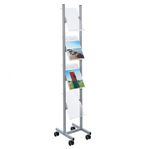 4 x A4 Perspex Literature Rack