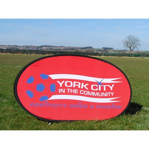 Outdoor Event Pop Up Banner