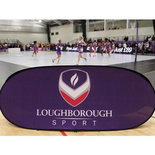 Sports Event Portable Banner Frame
