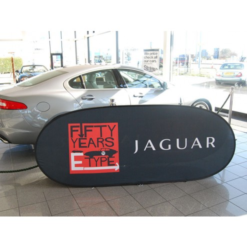 Car Showroom Pop Up Banner Frame