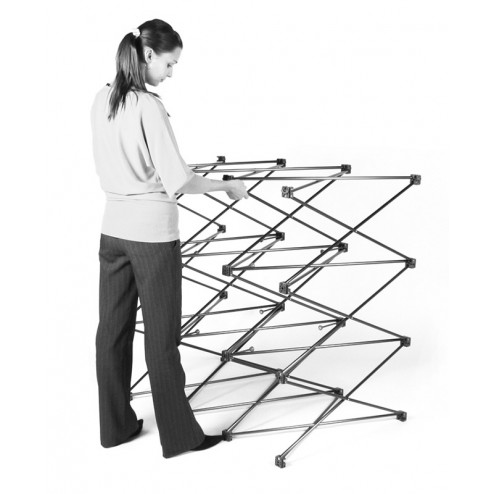Easy to put down and assemble frame