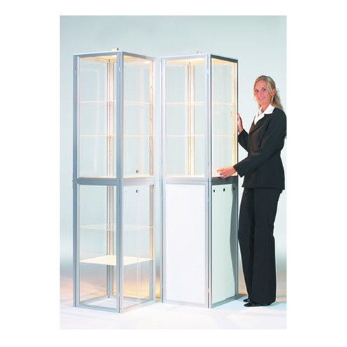 Folding Portable Display Cabinets