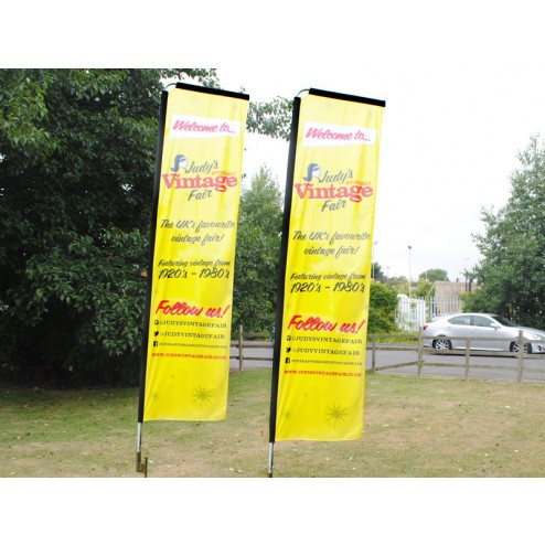 Outdoor Event Printed Flags